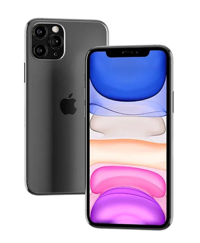 Floating iPhone 11 Pro Max Mockup