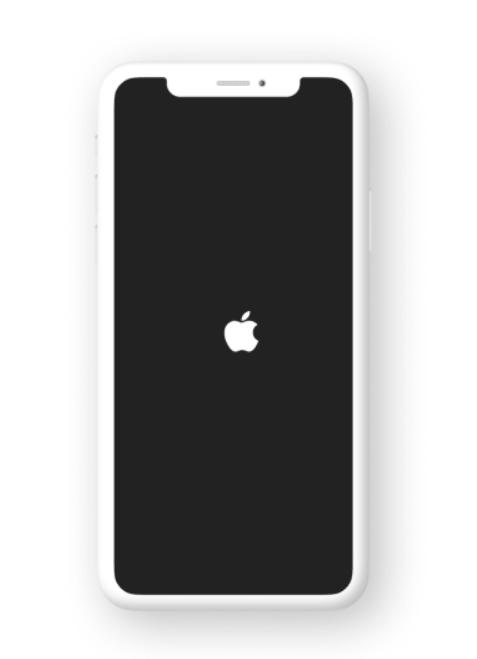 Free iPhone X Mockup White and Black For Figma