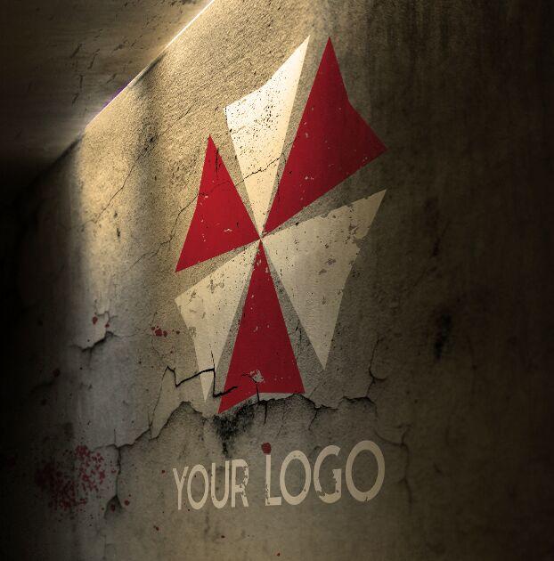 Post Apocalypse Logo Mockup