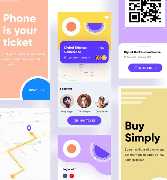 Free Event iOS UI KIT