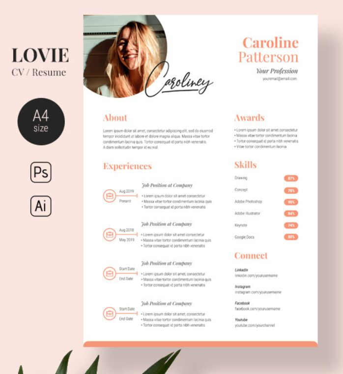 130  best resume    cv templates for free download  2020 update