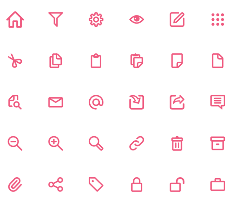 120 Essential Icons