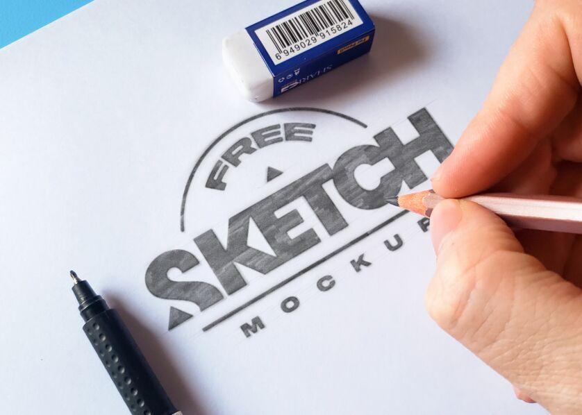 3 Realistic Sketch Mockups