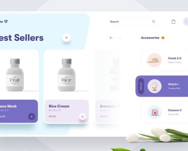 Beauty Store Website Concept
