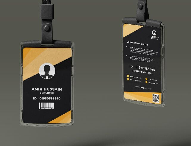 11 Best Realistic & Professional ID Card Mockups For Free Download (2020  Update) - 365 Web Resources