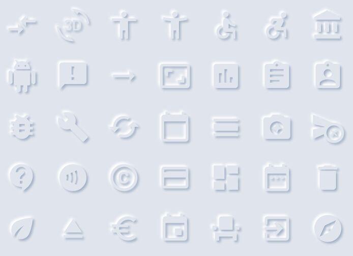 Neomorphism Icons