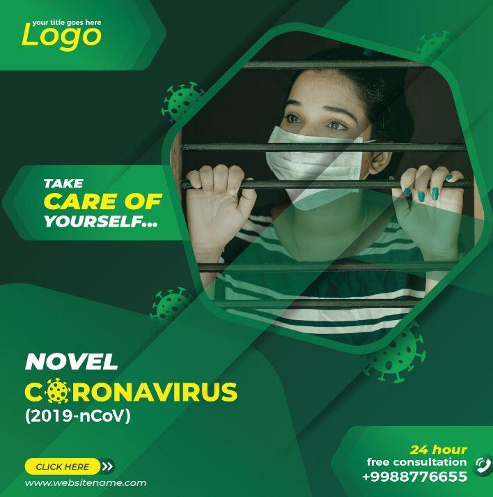 Corona Virus Social Media Template