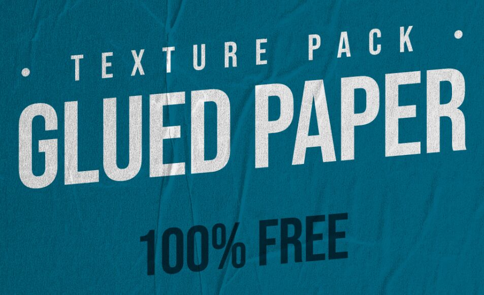 Glued Paper Texture Pack