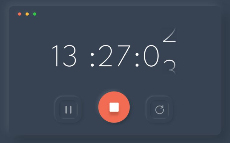 Countdown Timer UI