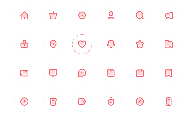 Simplon Icon Set