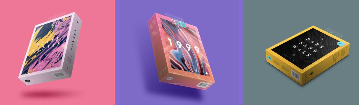 Boxset Mockup