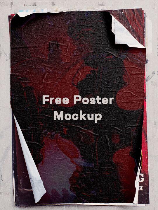 Street Poster Mockup
