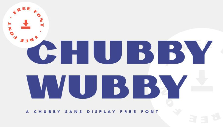 Chubby Wubby Free Font