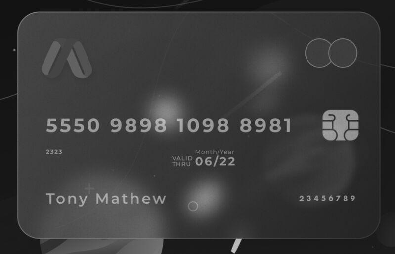 Glass Credit Card Mockup