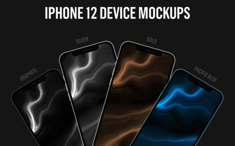iPhone 12 Device Mockups
