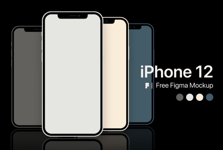 iPhone 12 Free Figma Mockup