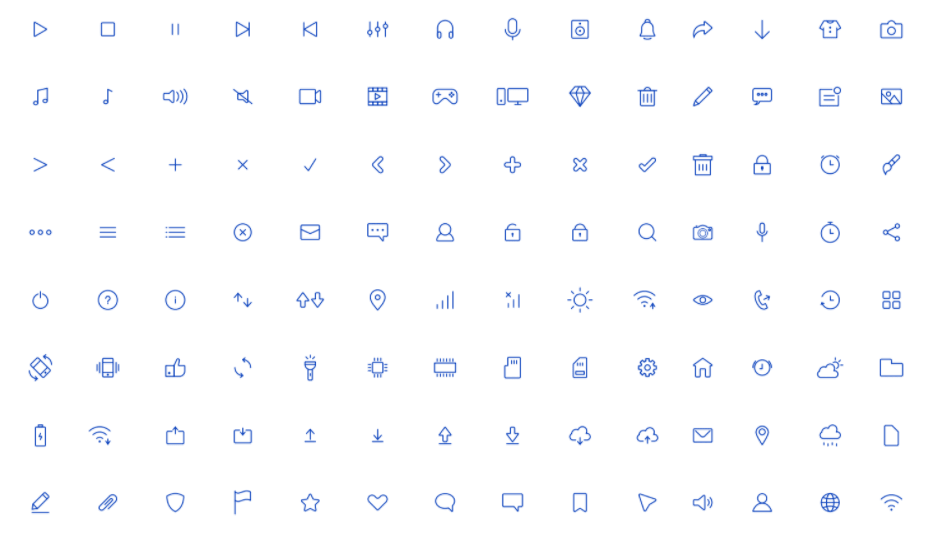 100+ Light Vector Icons