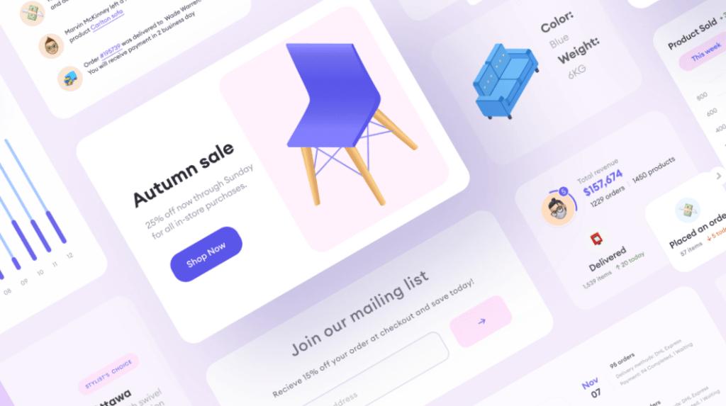 Free UI E-commerce Components