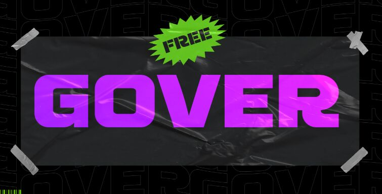 GOVER - FREE FONT