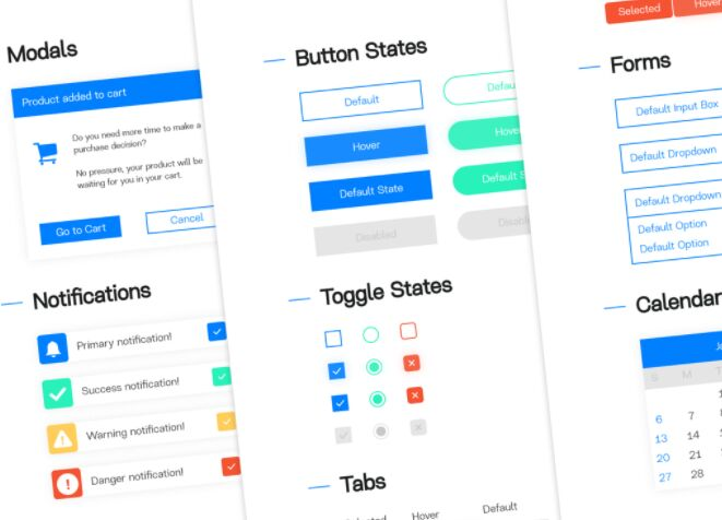 Web Development UI Kit
