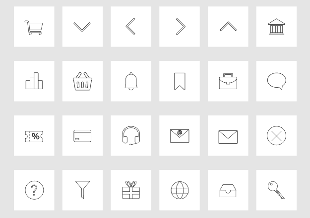 51 eCommerce Icons Pack