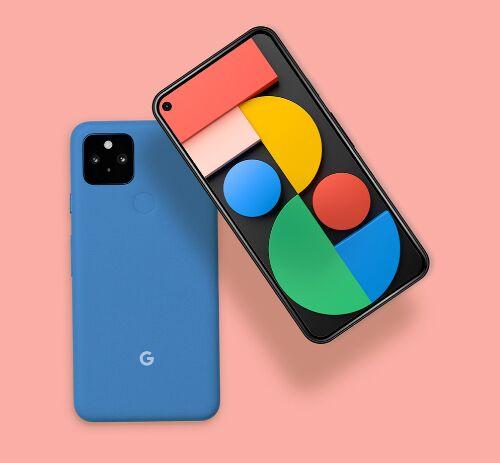 Google Pixel 5 Mockup Free Download