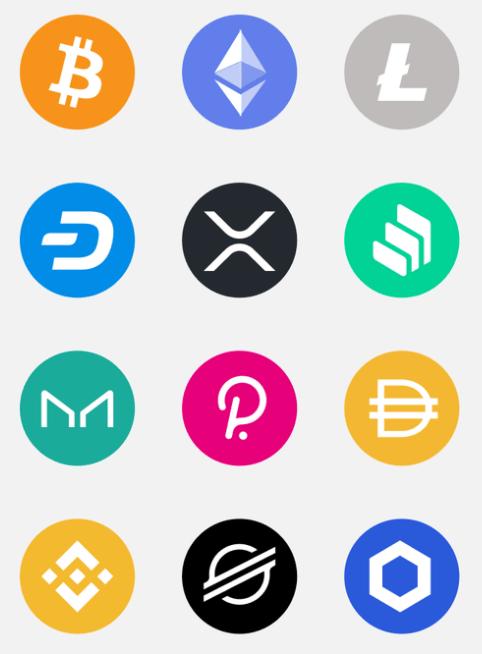 400+ Free Crypto Icons
