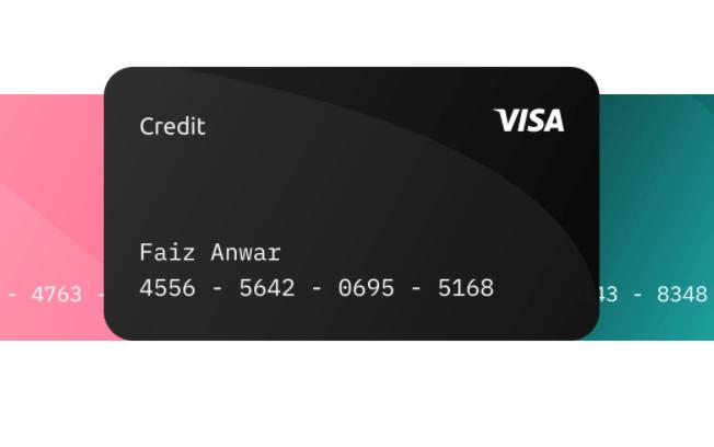 Credit Card UI Kit For Figma