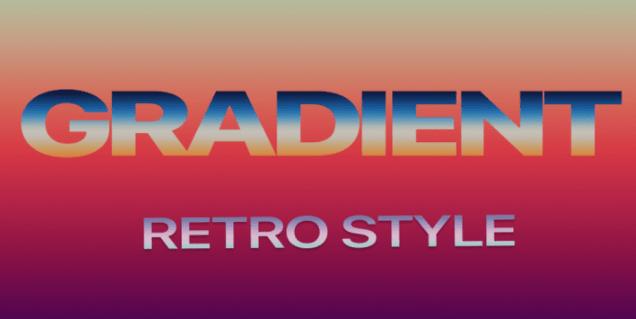 Free Gradient Styles