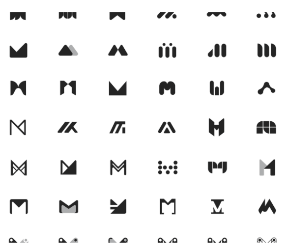 Letter M Free logos