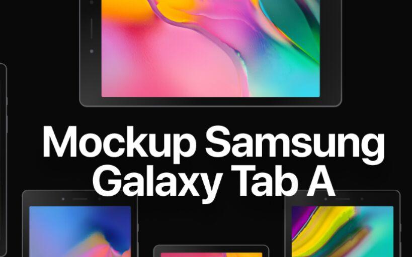 Samsung Galaxy Tab A Mockup