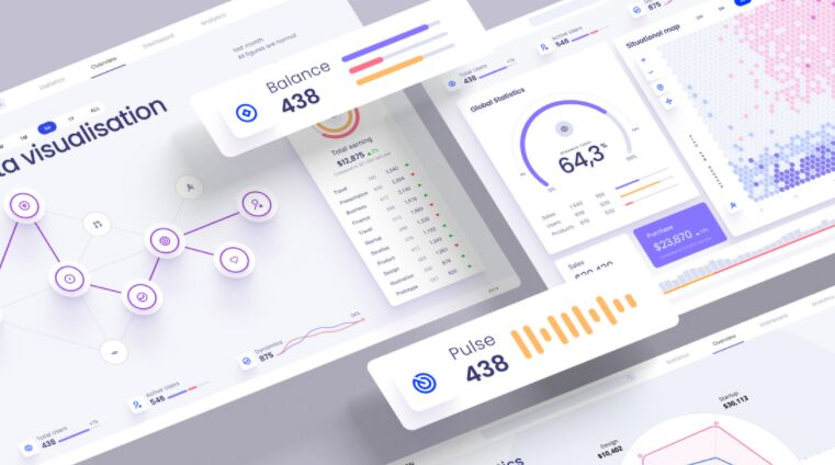 Widgets And Charts For Presentations & Dashboards