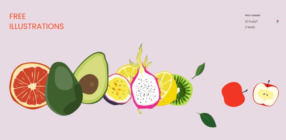 Fruit Hunger Free Illustration