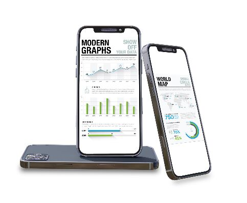 Smartphone PSD Mockups