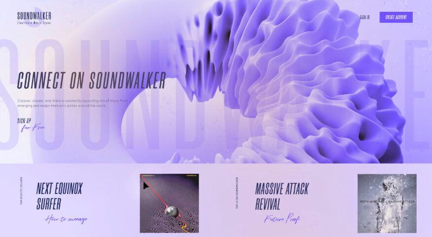 Soundwalker FREE XD Template