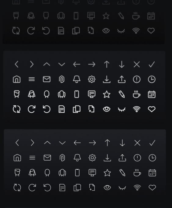 Suave 40 Unique Icons Pack