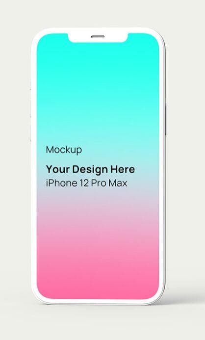 iPhone 12 Pro Max Mockup