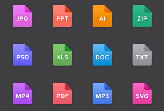 14 Figma File Icons