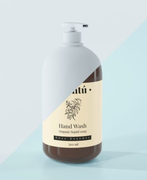 Free Liquid Soap Mockup