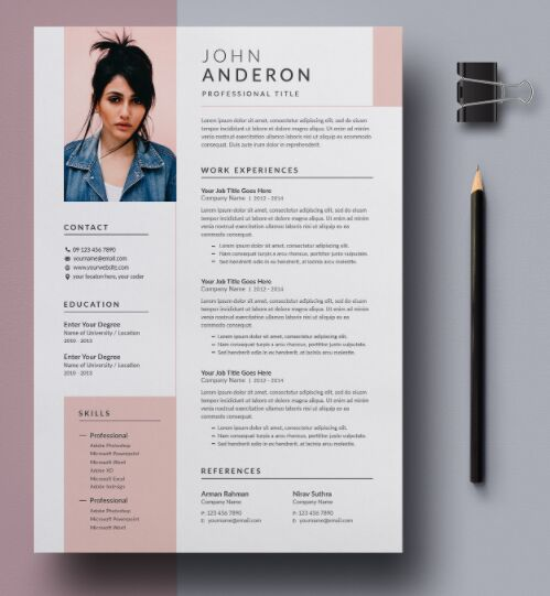 Free Resume & Cover Letter Template Download