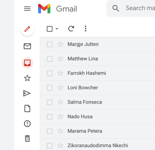 Gmail Sketch Template