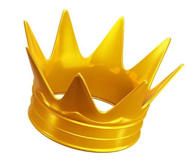 Free Gold Crown Transparent PNG Pack