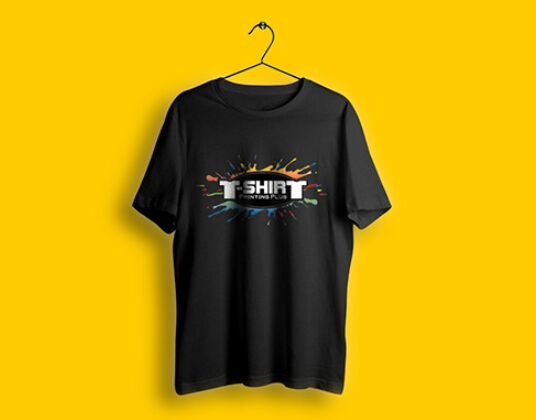 Hi-res T-shirt Mockup Free