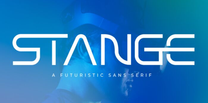 Stange Futurisic Sans Serif Font