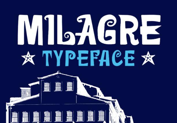 Milagre Typeface