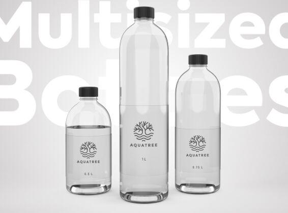 Water Bottle Mockup Free Download