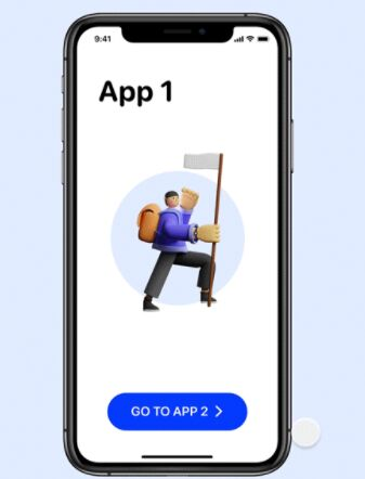 iOS App Redirect & Switch Animation