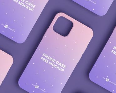 Free iPhone Case Mockups