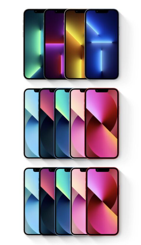 iPhone 13 Sketch Library