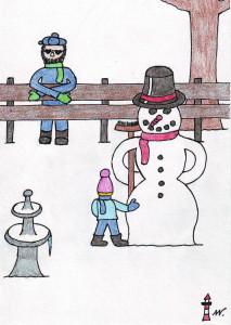05 Der dicke Schneemann